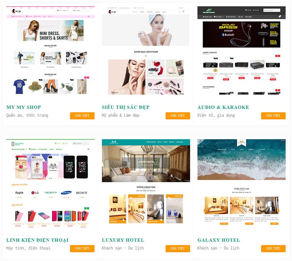 Thiết kế web bán hàng Gootech